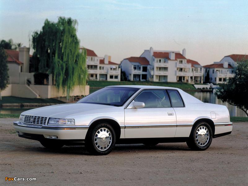 Cadillac Eldorado Touring Coupe 1992–94 wallpapers (800 x 600)
