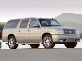Cadillac Escalade ESV Platinum Edition 2004–06 wallpapers