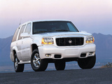 Photos of Cadillac Escalade 1999–2000