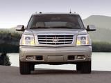 Cadillac Escalade ESV Platinum Edition 2004–06 wallpapers