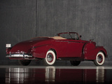 Cadillac V16 Convertible Coupe by Fleetwood (38-9067) 1938 pictures