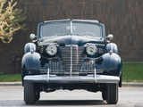 Cadillac Fleetwood Seventy-Five Convertible Coupe (7567) 1940 wallpapers
