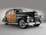 Cadillac Fleetwood Seventy-Five Sedan by Bohman & Schwartz 1949 wallpapers