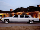 Images of Cadillac Fleetwood Executive Limousine by Moloney 1980