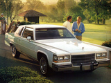Photos of Cadillac Fleetwood Brougham Coupe 1980–85