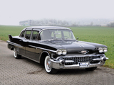 Pictures of Cadillac Fleetwood Seventy-Five Limousine 1958