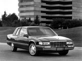 Pictures of Cadillac Fleetwood Coupe 1991–92