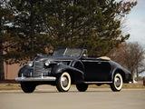 Wallpapers of Cadillac Fleetwood Seventy-Five Convertible Coupe (7567) 1940