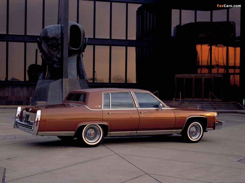 Cadillac Fleetwood Brougham 1980–86 wallpapers (1024x768)
