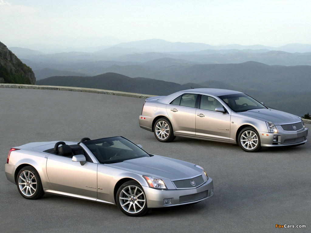 Cadillac XLR-V & STS-V 2006 pictures (1024 x 768)
