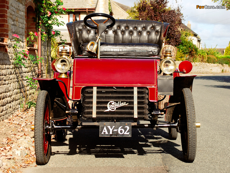 Cadillac Model A Runabout Tonneau 1903–04 wallpapers (800 x 600)