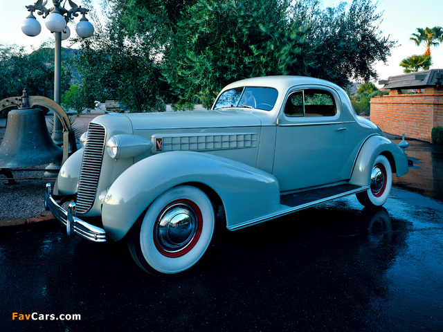 Pictures of Cadillac V8 Series 70 Coupe 1936 (640 x 480)