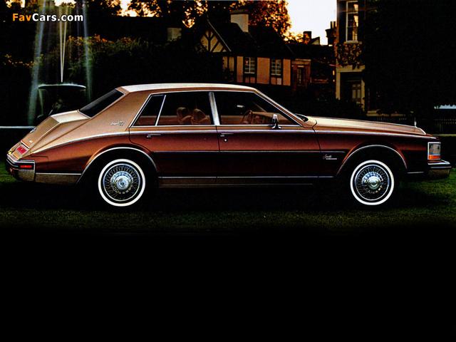 Cadillac Seville Elegante 1980–85 photos (640 x 480)