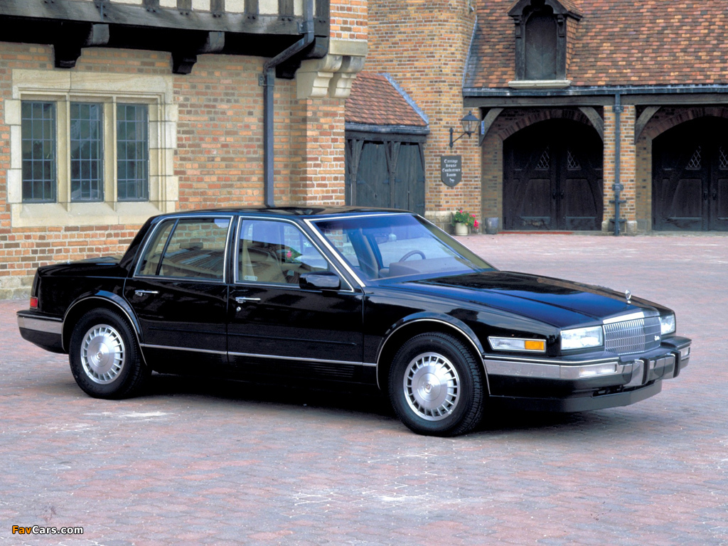 Cadillac Seville 1986–88 pictures