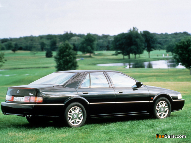 Photos of Cadillac Seville STS 1992–97 (640 x 480)