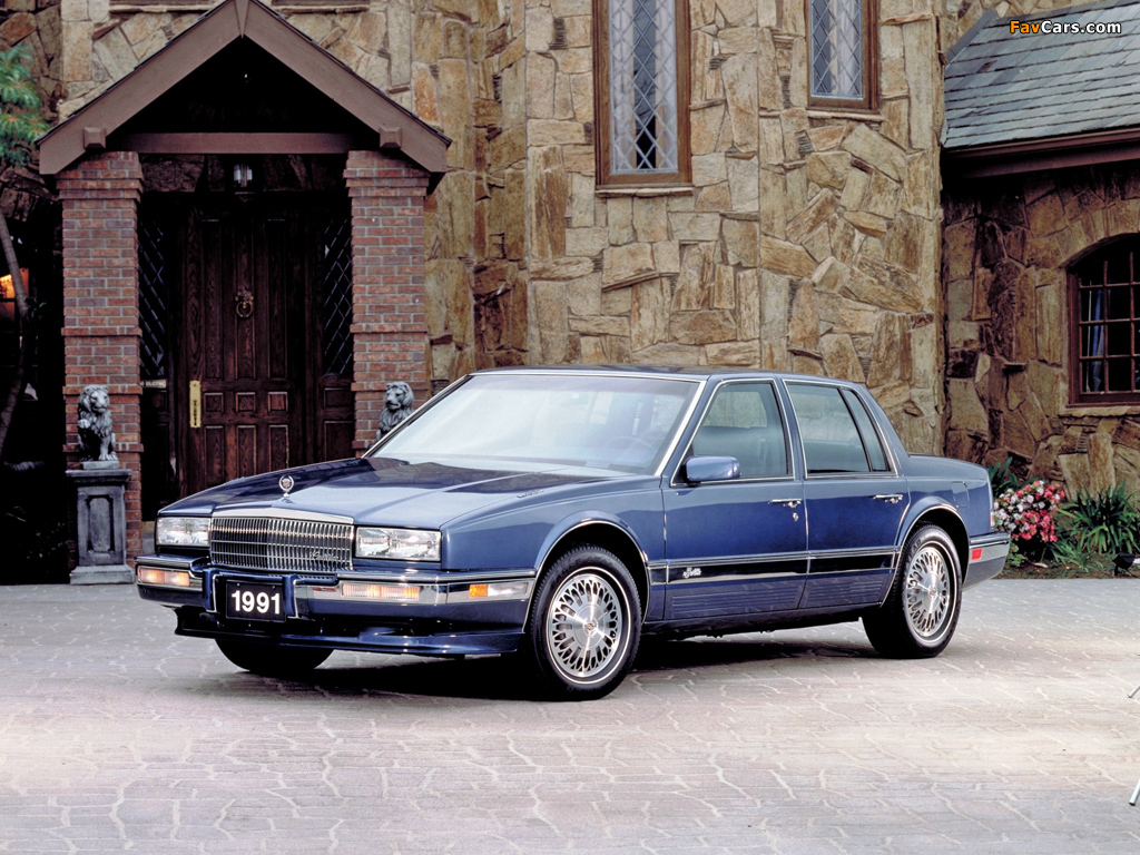 Cadillac Seville 1989 91 Wallpapers 1024x768