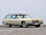 Cadillac Fleetwood Sixty Special Station Wagon by Detroit Sunroof 1972 wallpapers