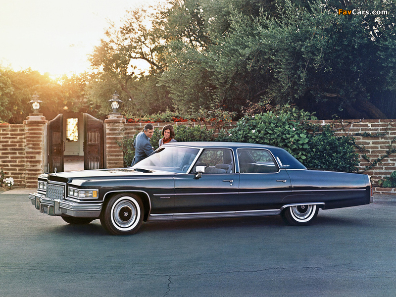 Cadillac Fleetwood Sixty Special Brougham 1976 wallpapers (800 x 600)