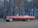 Cadillac Sixty-Two Convertible (6267F) 1963 wallpapers