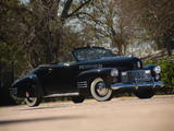 Cadillac Sixty-Two Convertible Coupe by Fleetwood 1941 pictures
