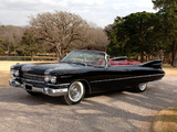Cadillac Sixty-Two Convertible 1959 wallpapers