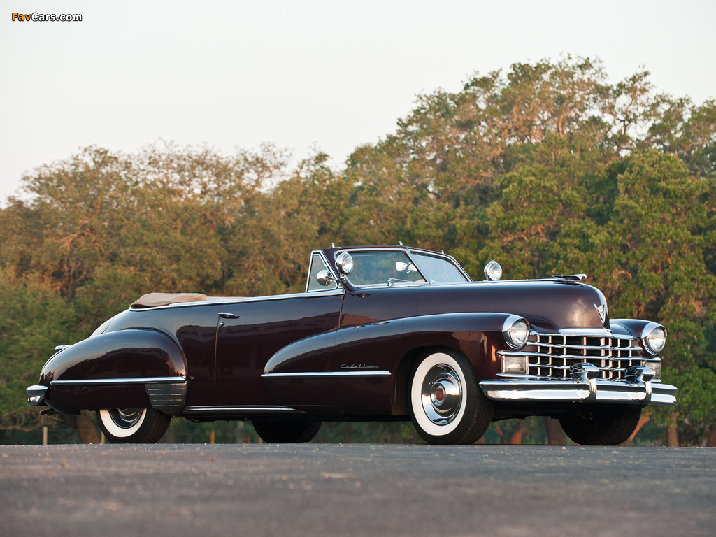 Photos of Cadillac Sixty-Two Convertible 1947 (1024 x 768)