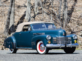 Pictures of Cadillac Sixty-Two Convertible Coupe by Fleetwood 1941