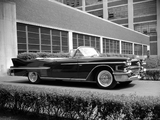 Cadillac Sixty-Two Convertible (6267X) 1958 wallpapers
