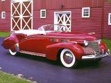 Cadillac Custom Convertible by Bohman & Schwartz 1940 wallpapers