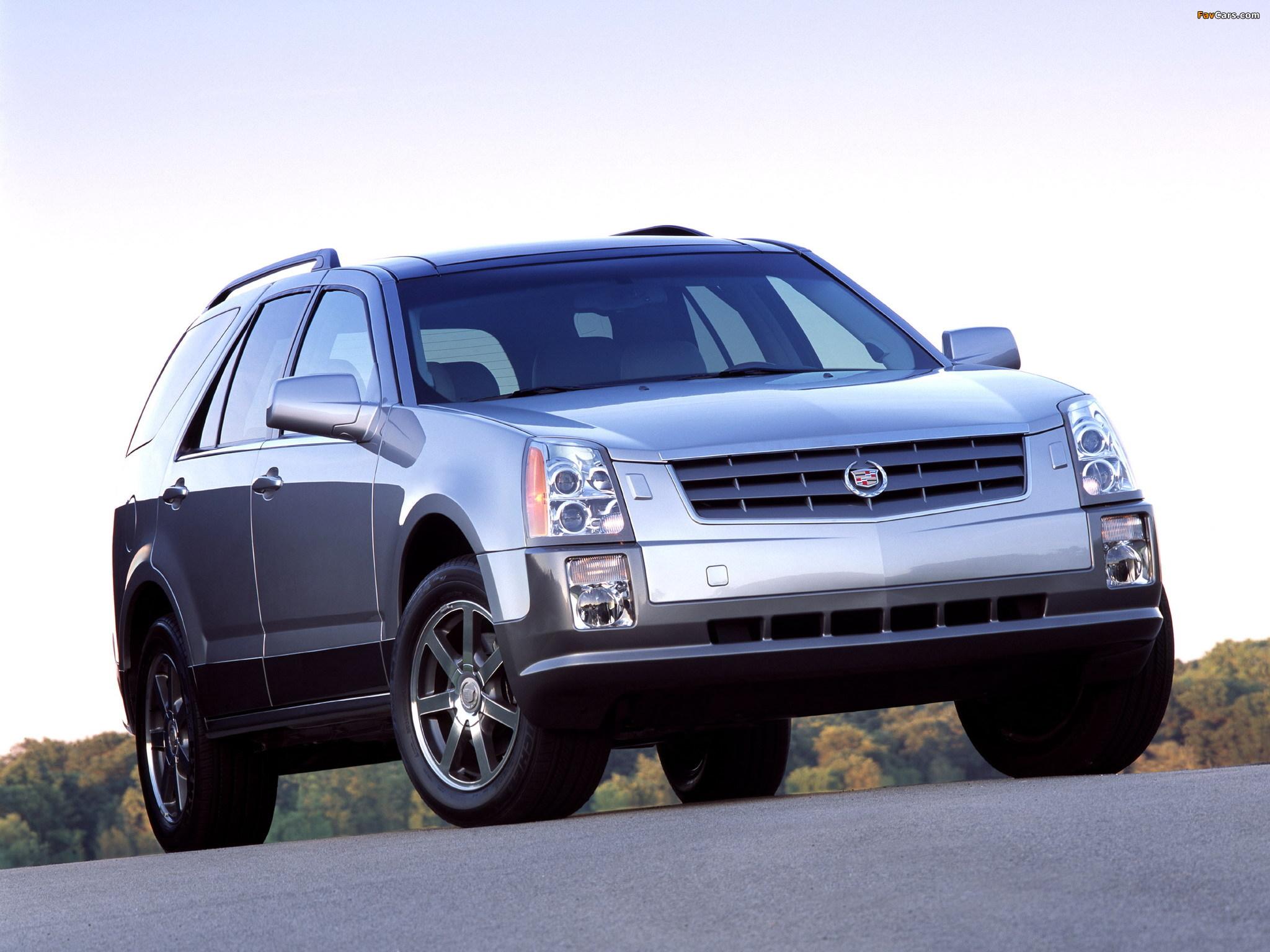Cadillac SRX 2004–09 photos (2048 x 1536)