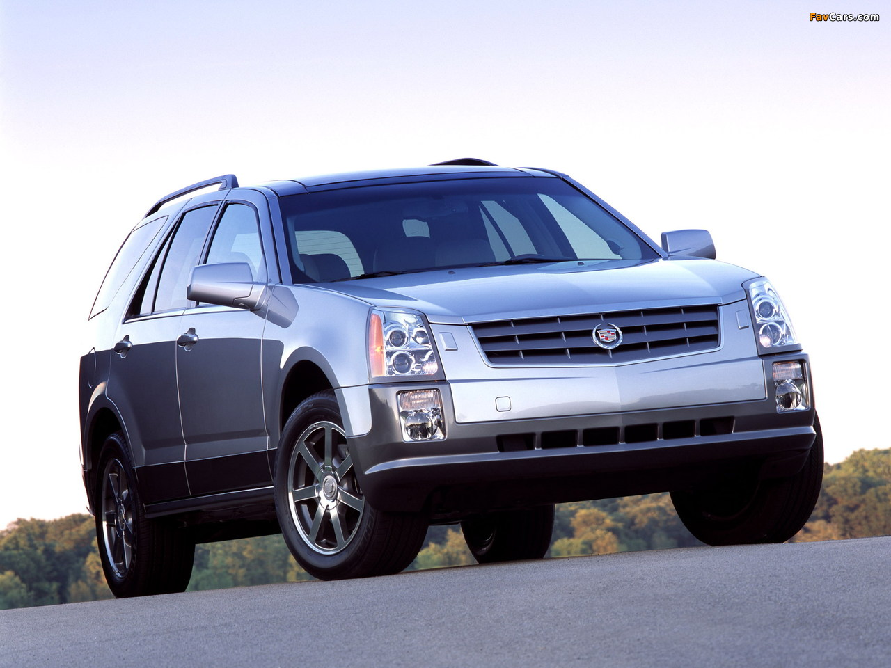 Cadillac SRX 2004–09 photos (1280 x 960)
