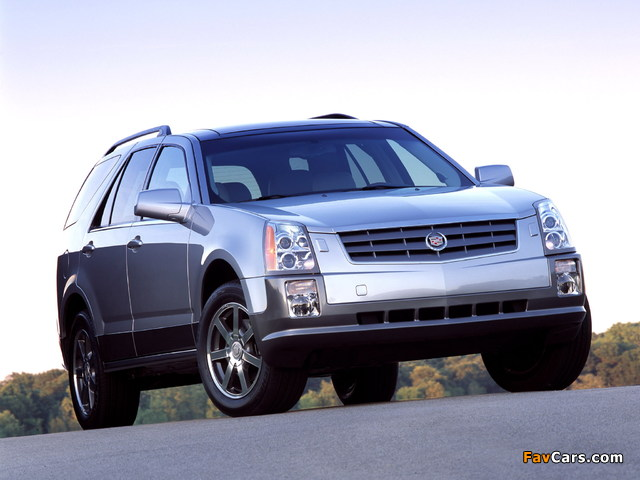 Cadillac SRX 2004–09 photos (640 x 480)