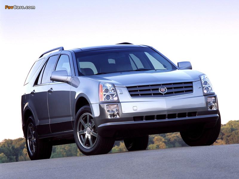 Cadillac SRX 2004–09 photos (800 x 600)