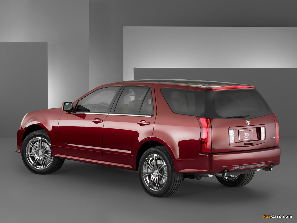 Cadillac SRX Sport 2004–09 pictures (1024 x 768)
