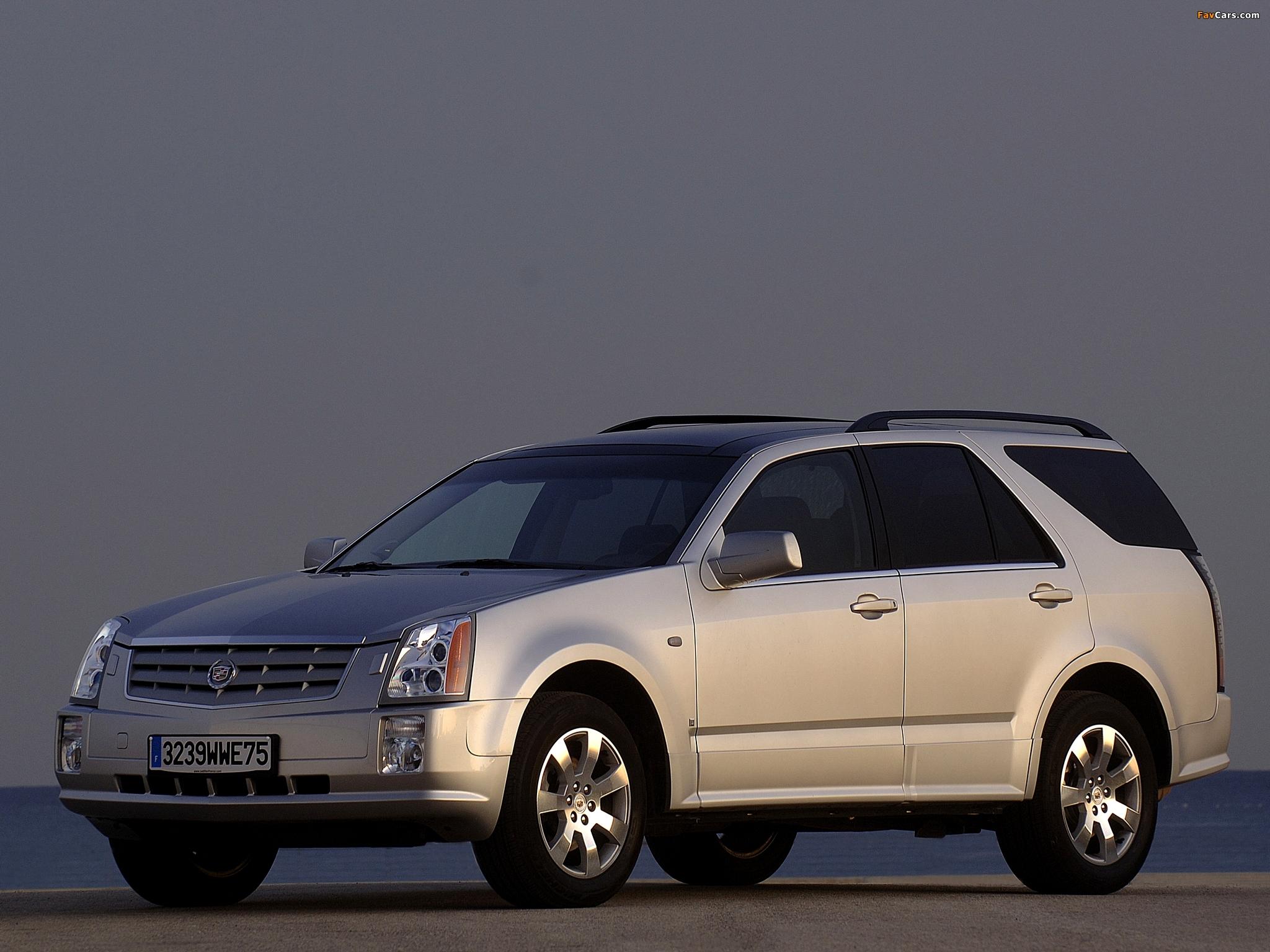 Images of Cadillac SRX 2004–09 (2048 x 1536)