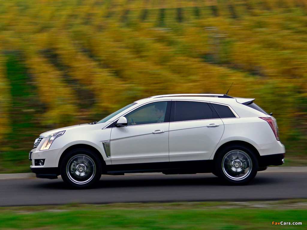 Photos of Cadillac SRX EU-spec 2012 (1024 x 768)