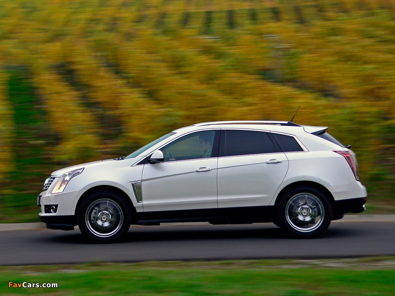 Photos of Cadillac SRX EU-spec 2012 (800 x 600)