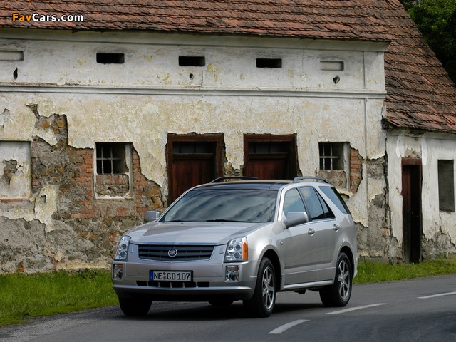 Pictures of Cadillac SRX 2004–09 (640 x 480)