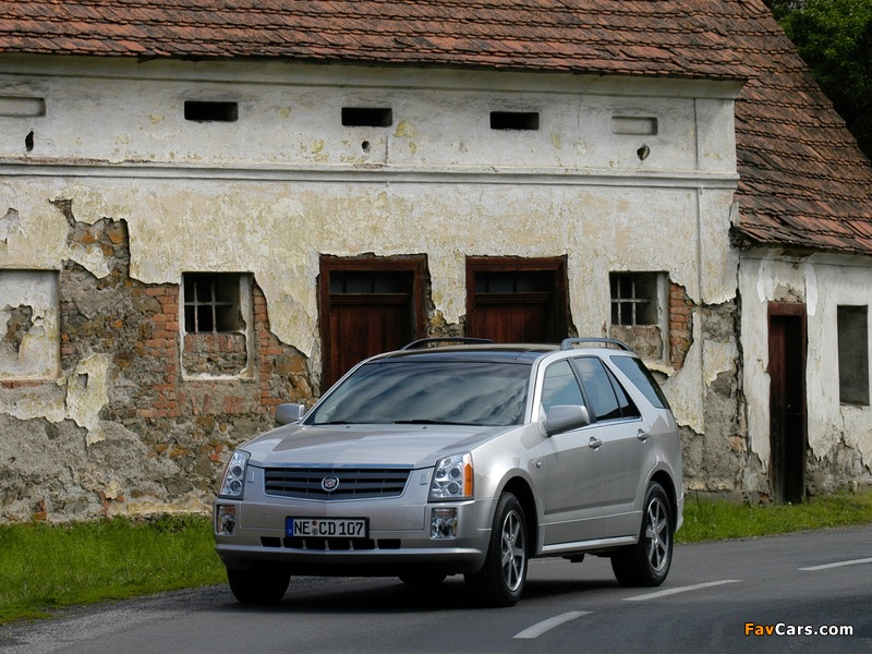 Pictures of Cadillac SRX 2004–09 (800 x 600)