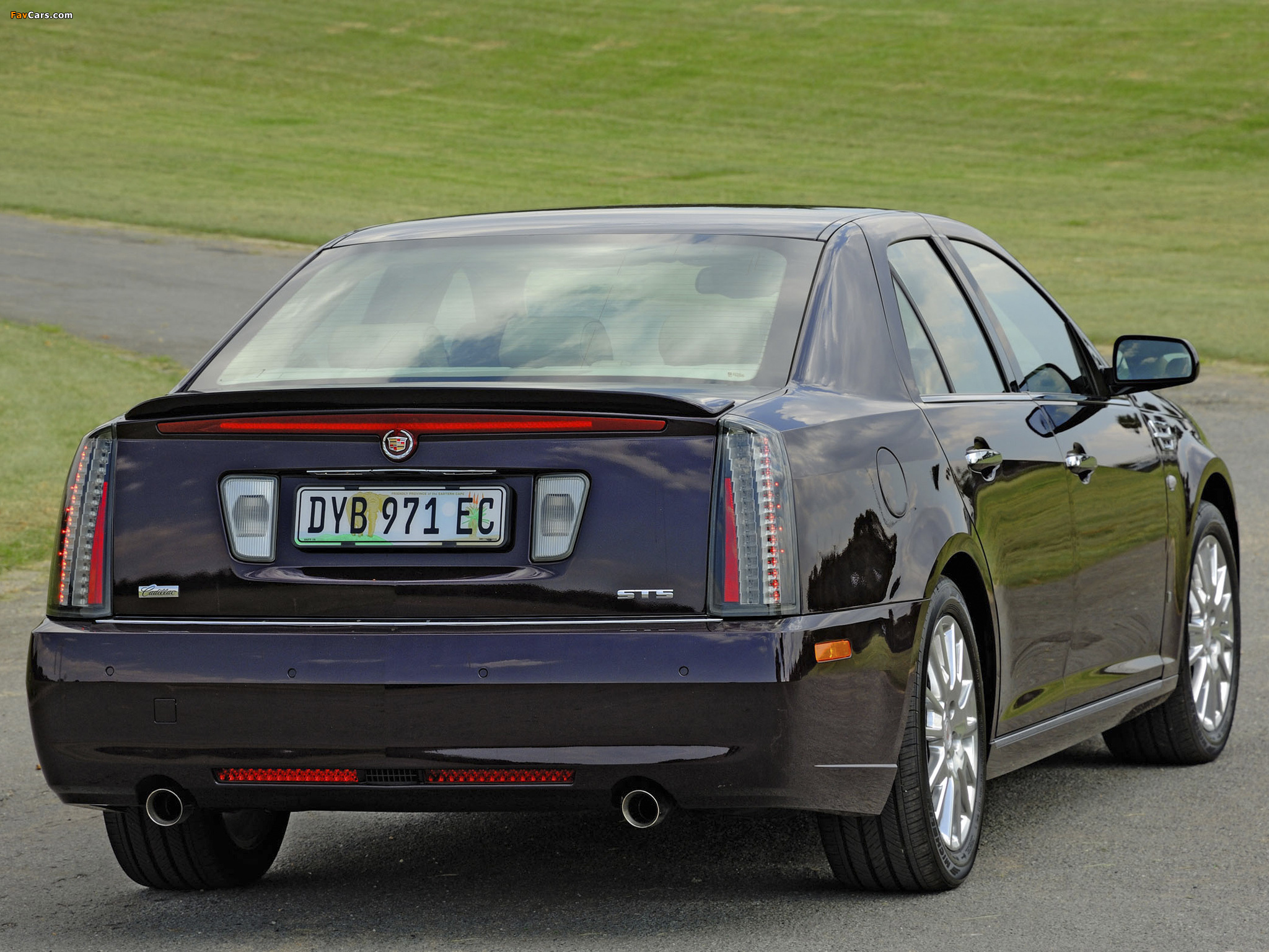 Cadillac STS ZA-spec 2008–09 images (2048 x 1536)