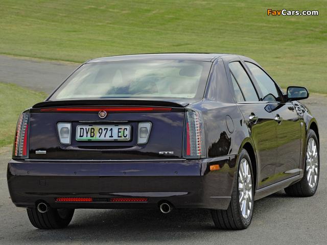 Cadillac STS ZA-spec 2008–09 images (640 x 480)