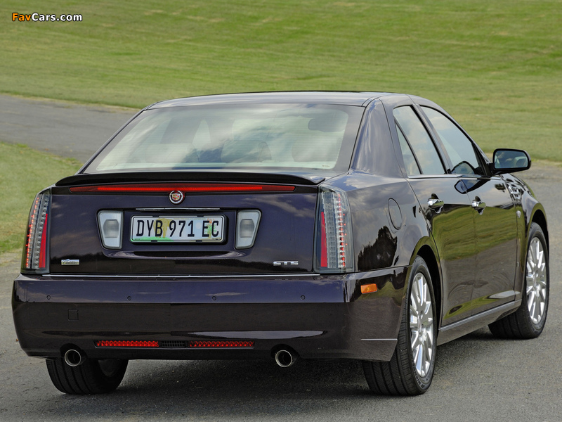 Cadillac STS ZA-spec 2008–09 images (800 x 600)