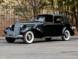 Cadillac V12 370-D Town Cabriolet by Fleetwood 1935 pictures