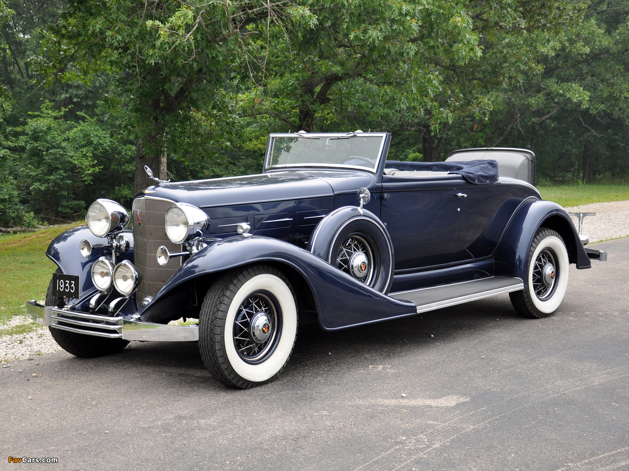 Images of Cadillac V12 370-C Convertible Coupe 1933 (1280 x 960)