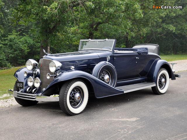 Images of Cadillac V12 370-C Convertible Coupe 1933 (640 x 480)