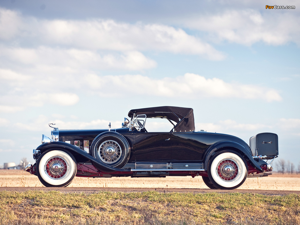 Cadillac V16 452/452-A Roadster by Fleetwood 1930–31 images (1024 x 768)