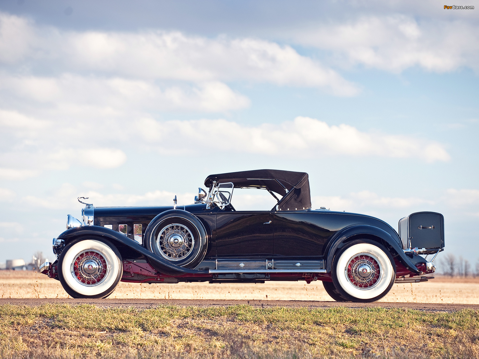Cadillac V16 452/452-A Roadster by Fleetwood 1930–31 images (1600 x 1200)