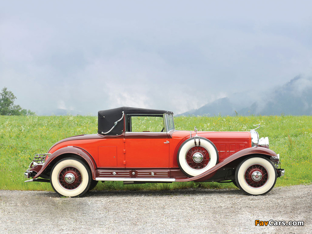 Cadillac V16 Convertible Coupe by Fleetwood 1930 images (640 x 480)