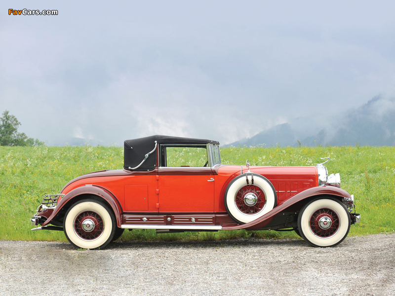 Cadillac V16 Convertible Coupe by Fleetwood 1930 images (800 x 600)