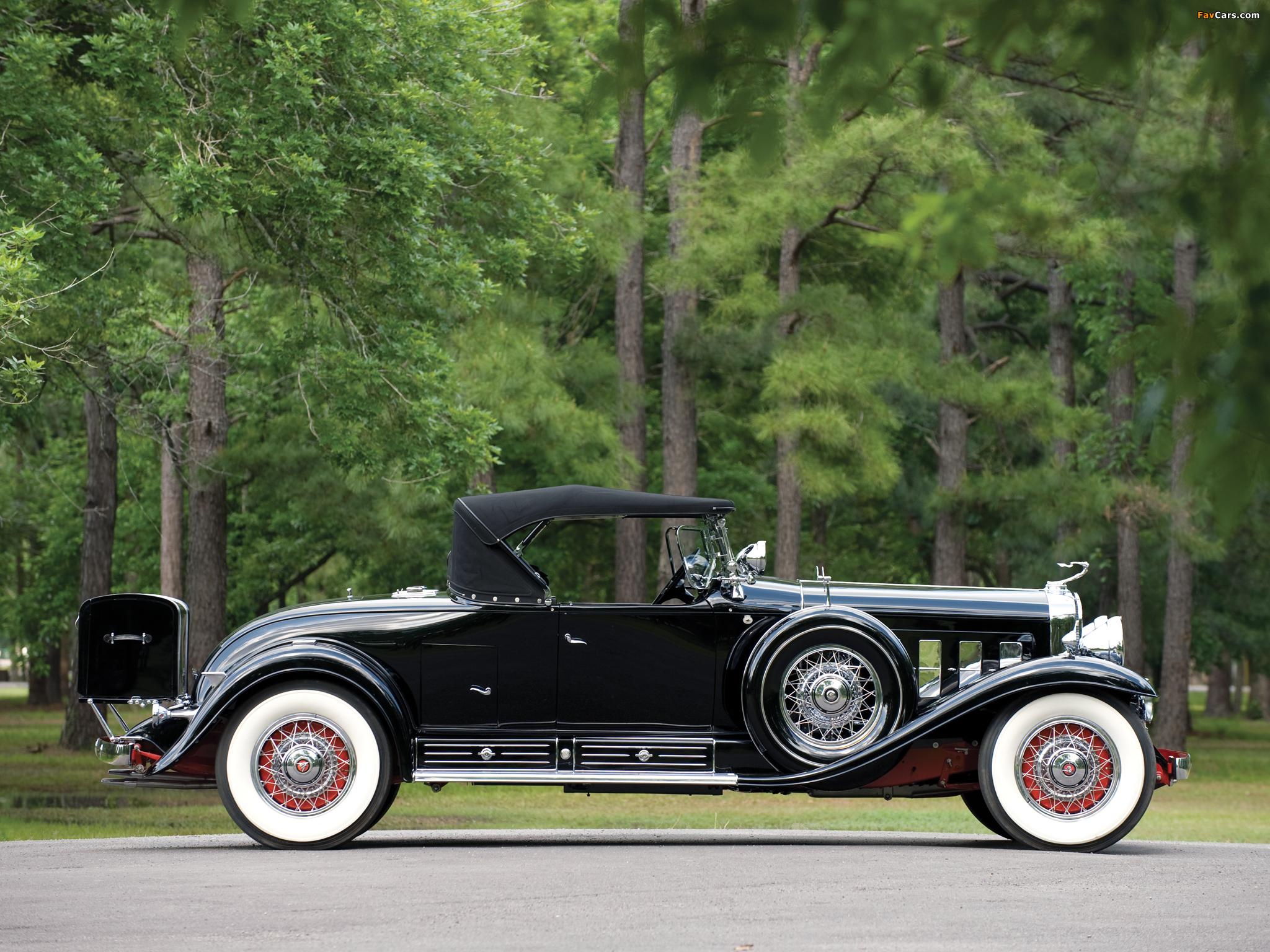 Cadillac V16 452 Roadster 1930 photos (2048 x 1536)